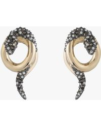 Alexis Bittar - Coiled Snake Stud Earrings - Lyst