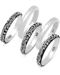 Lois Hill - Stacked Ring Set - Lyst