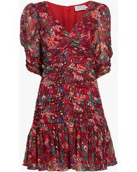 Tanya Taylor Women's Pansy Dress - Red