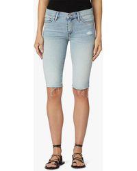Hudson Jeans Women's Amelia Cutoff-knee Shorts - Blue