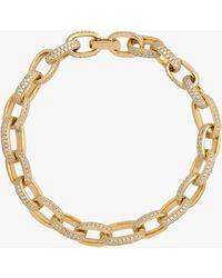 Joolz by Martha Calvo Pavé Celine Bracelet - Metallic