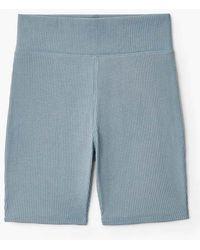 Rag & Bone - Ribbed Shorts - Lyst
