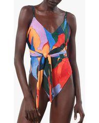 Mara Hoffman Women's Gamela One-piece Swimsuit - Red