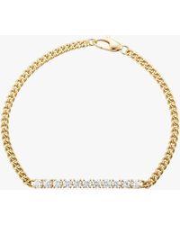 Jemma Wynne Small Curb Link Bracelet - Metallic