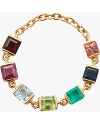 Yi Collection - Rainbow Chain Ring - Lyst