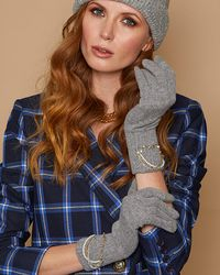 Eugenia Kim Sloane Gloves - Gray