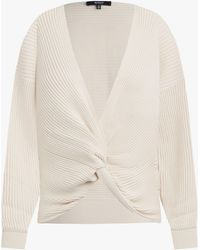 Hudson Jeans Women's Knotted Sweater - White