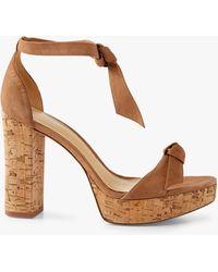 Alexandre Birman Mabeleh Platform Sandal - Natural
