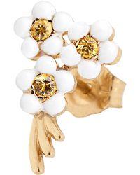 Alison Lou - Bouquet Of Flowers Single Stud Earring - Lyst