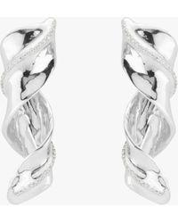 Uno De 50 Tsunami Stud Earrings - Metallic