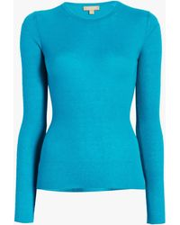 Michael Kors - Long Sleeve Cashmere Sweater - Lyst