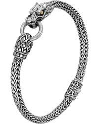John Hardy - Naga Station Bracelet Sterling Silver - Lyst