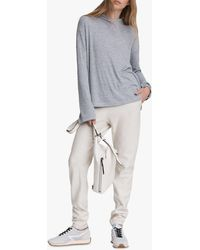 Rag & Bone - The Knit Rib Hoodie Relaxed Fit Sweater - Lyst