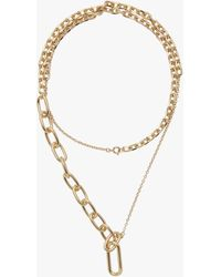 Lady Grey Varie Necklace In Gold - Metallic