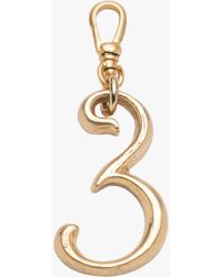 Lulu Frost Small Plaza Number Pendant - Multicolor