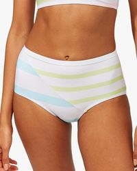 Solid & Striped Women's The Rooney Bikini Bottom - White