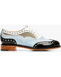 The Office Of Angela Scott Mr. Doubt Brogue Oxford - Blue