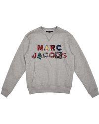 Marc Jacobs - Lux Embellished Sweatshirt - Lyst