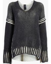 Zero + Maria Cornejo - Slash V-neck Pullover Sweater - Lyst