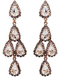Erickson Beamon - Duchess Of Fabulous Earrings - Lyst