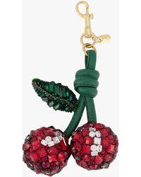 Anya Hindmarch Red Crystal Cherry Charm