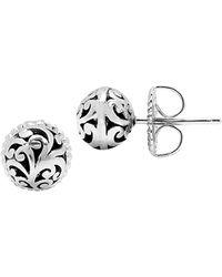Lois Hill Stud Earrings - Metallic