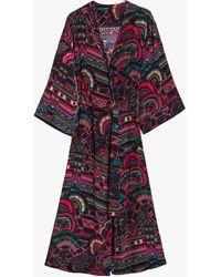 Chufy Women's Illari Long Robe - Black