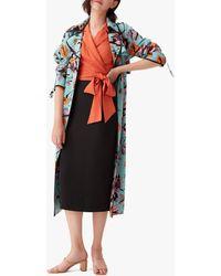 Diane von Furstenberg Women's Eda Coat - Blue