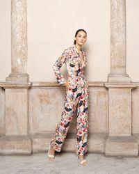 Adriana Iglesias Women's Theodore Long Sleeve Jumpsuit - Natural