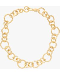 Stephanie Kantis Coronation Large Chain Necklace - Metallic