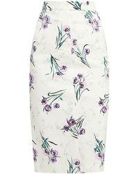 Max Mara - Legume Floral Pencil Skirt - Lyst