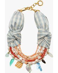 Lizzie Fortunato Breton Beach Necklace - Multicolor