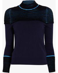 Yigal Azrouël Turtleneck Sweater - Blue