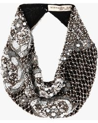 Mignonne Gavigan - Le Charlot Pearl Scarf Necklace - Lyst