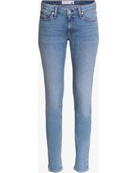 Rag & Bone Dre Low Rise Slim Fit Boyfriend Jeans In Edgecliff - Blue