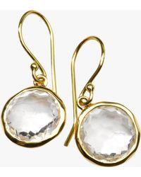 Ippolita - Lollipop Clear Quartz Drop Earrings - Lyst