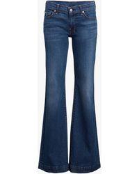 7 For All Mankind Women's Dojo Jeans - Blue