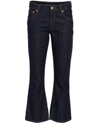 Carven - Crop Flare Jeans - Lyst