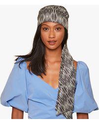 Eugenia Kim Gigi Turban Headband - Blue