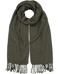 Oliver Bonas - Shimmer Mid Weight Scarf - Lyst