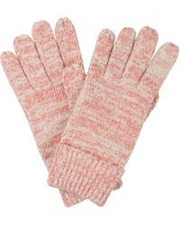 Oliver Bonas Sparkle Pink Knitted Gloves