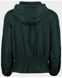 Oliver Bonas Hooded Zipped Bomber Jacket - Green