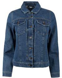 Oliver Bonas Denim Long Sleeve Jacket - Blue