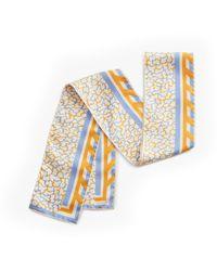Cuyana Silk Skinny Scarf - Multicolor