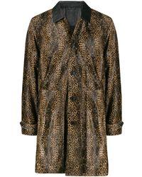 DESA NINETEENSEVENTYTWO Leopard-print Coat - Multicolor