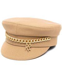 Ruslan Baginskiy Cotton Hat - Brown