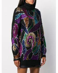Amen Sequin Embroidered Jumper - Multicolour