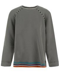 Missoni Grey Cotton Sweatshirt