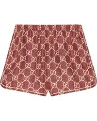 Gucci Shorts Red