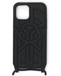 5 MONCLER CRAIG GREEN Moncler Phone Case With Logo - Black